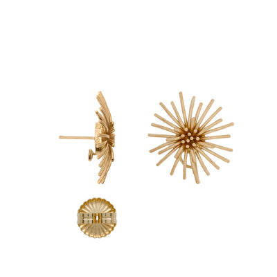 The 18K Large Burst Earrings