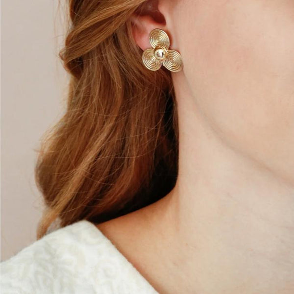 Large Petal Earrings