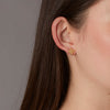18K Micro Filigree Stud Earrings