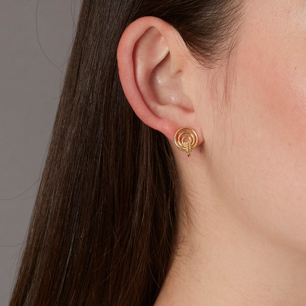 Mini Orbit Earrings