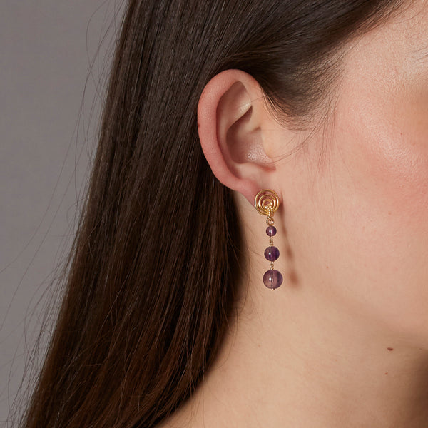 Multi Stone Earring Drops
