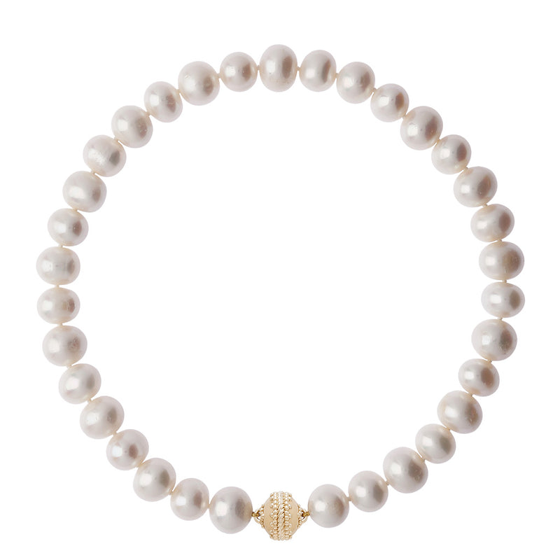 Classic Pearl 13mm Necklace