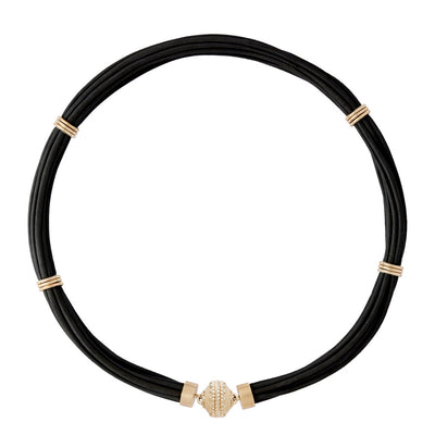 The Aspen Leather Necklace