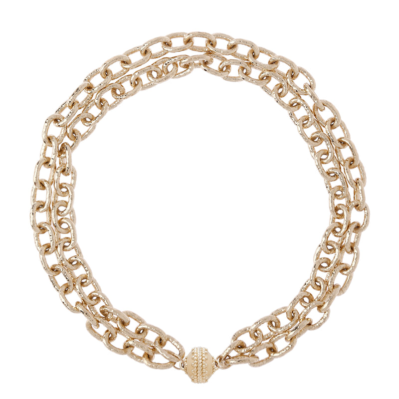 Wabash Double Strand Necklace