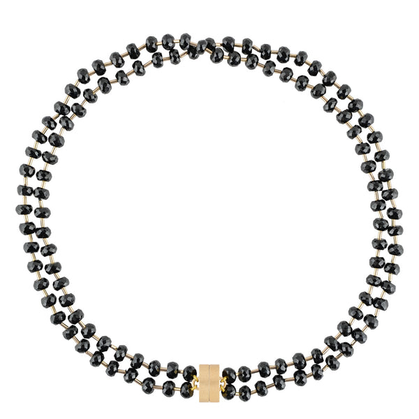 Margaret Spinel Double Strand Studio Necklace