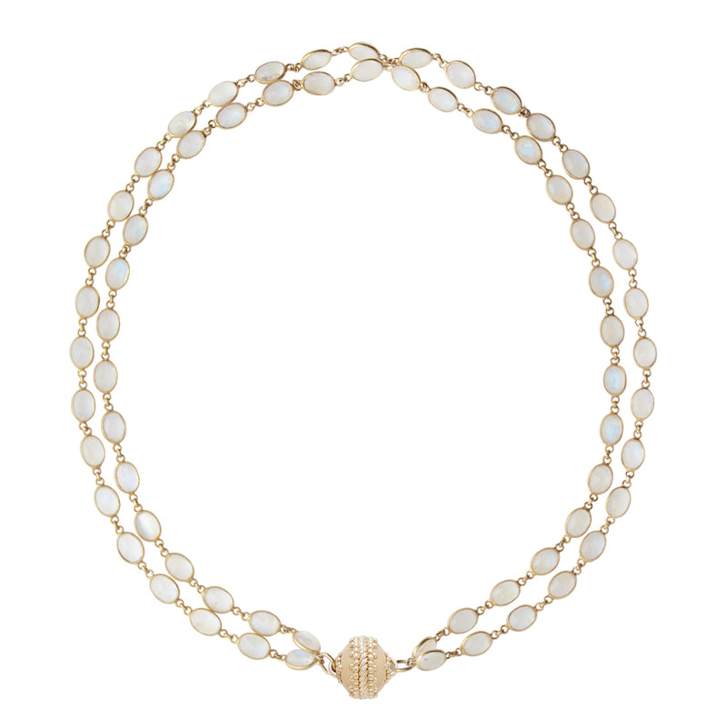 Amalfi 18K Double Strand Necklace