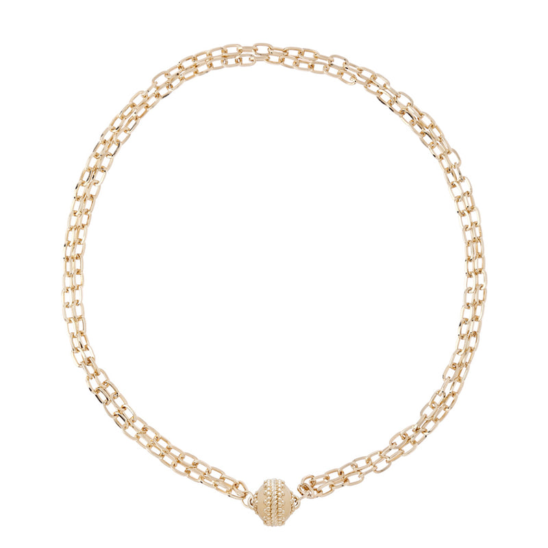 Addison Double Strand Necklace