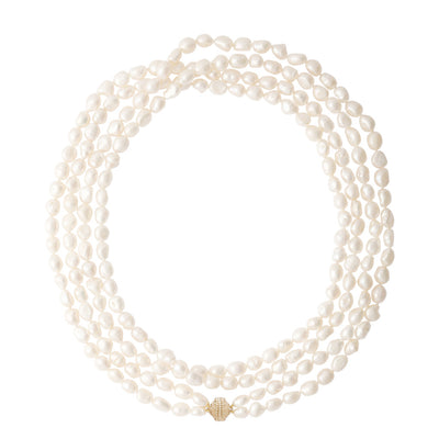 Opera Pearl Irregular Necklace