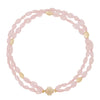 Gold Rush Morganite Double-Strand Necklace