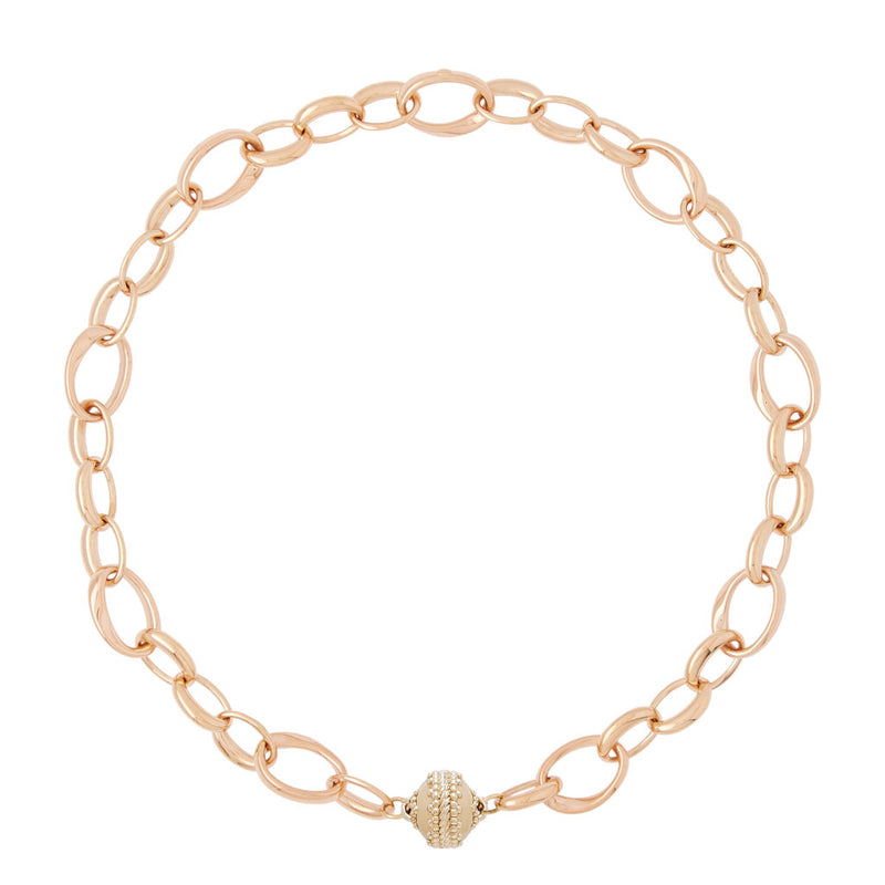 Burton 18k Rose Gold Necklace