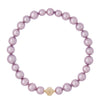 Freshwater Lilac Baroque Pearl Necklace