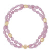 Gold Rush Kunzite Double-Strand Necklace