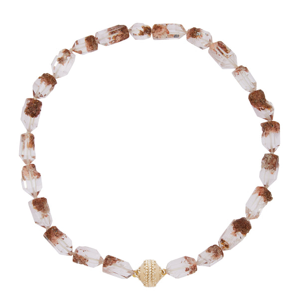 Lodolite Faceted Necklace
