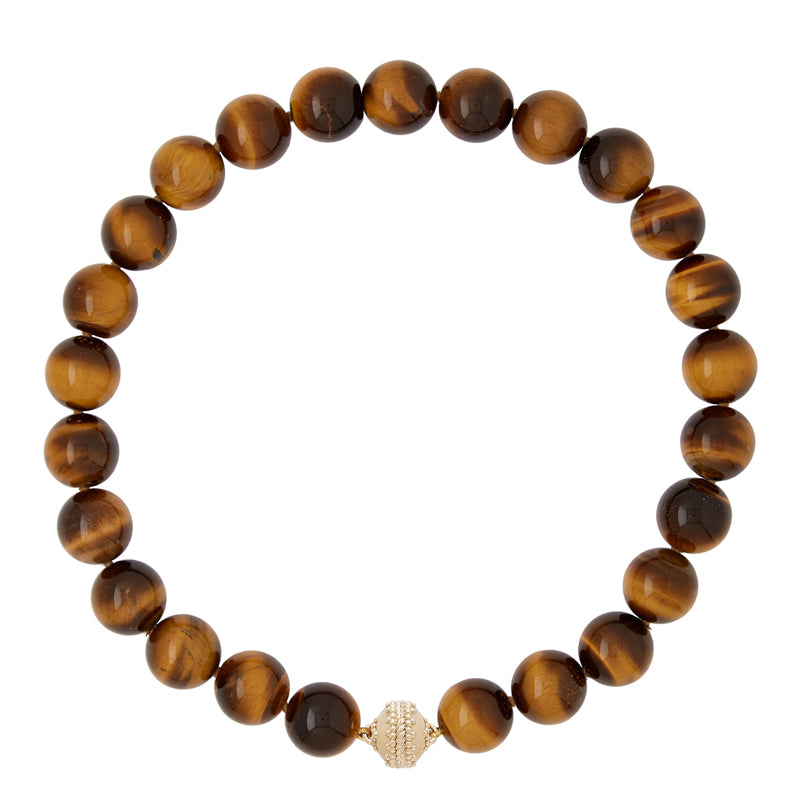 Victoire Tiger Eye 16mm Necklace