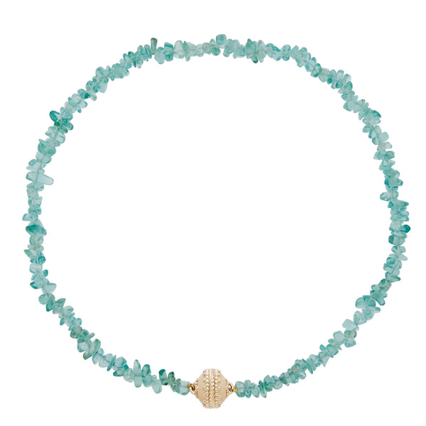 Apatite Chip Necklace