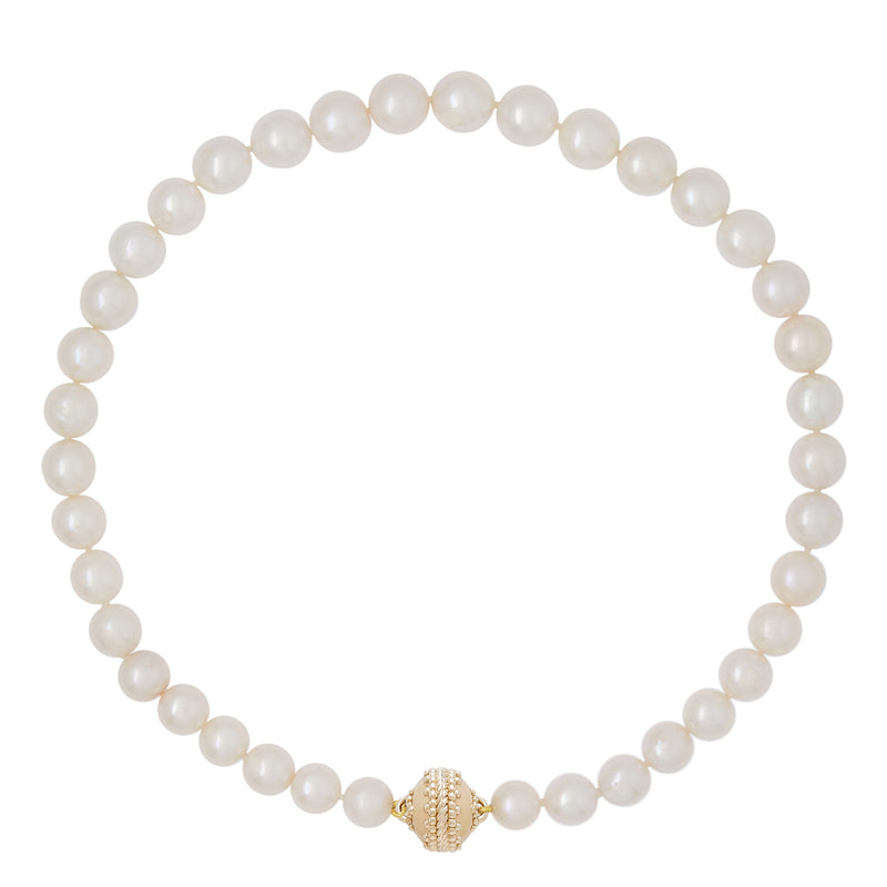 Classic Graduated Pearl Necklace