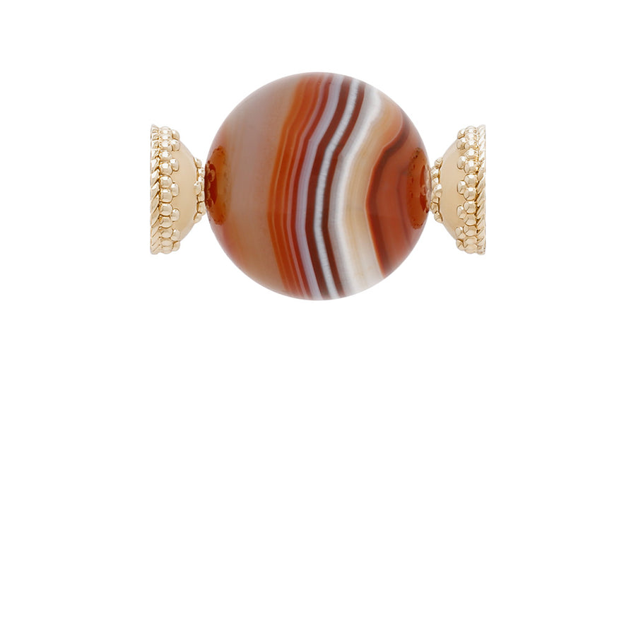 Victoire Banded Agate 25mm Centerpiece