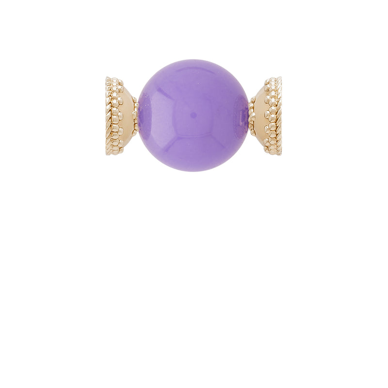 Victoire Purple Jade 20mm Centerpiece