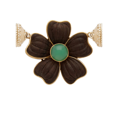 The 18K Rosewood Flower