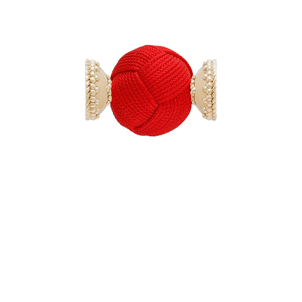 Red Woven Knot