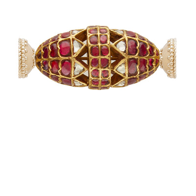 Kundan 22k Ruby Studded Centerpiece