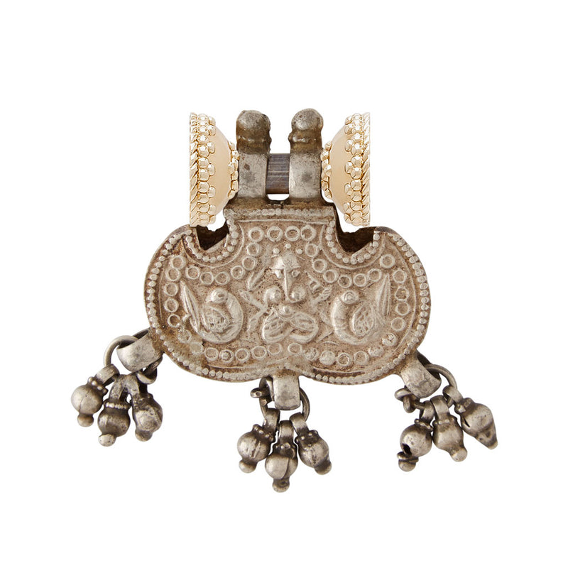 Colaba Indian Silver Bead Sterling Silver Centerpiece