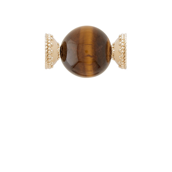 Victoire Tiger Eye 20mm Centerpiece