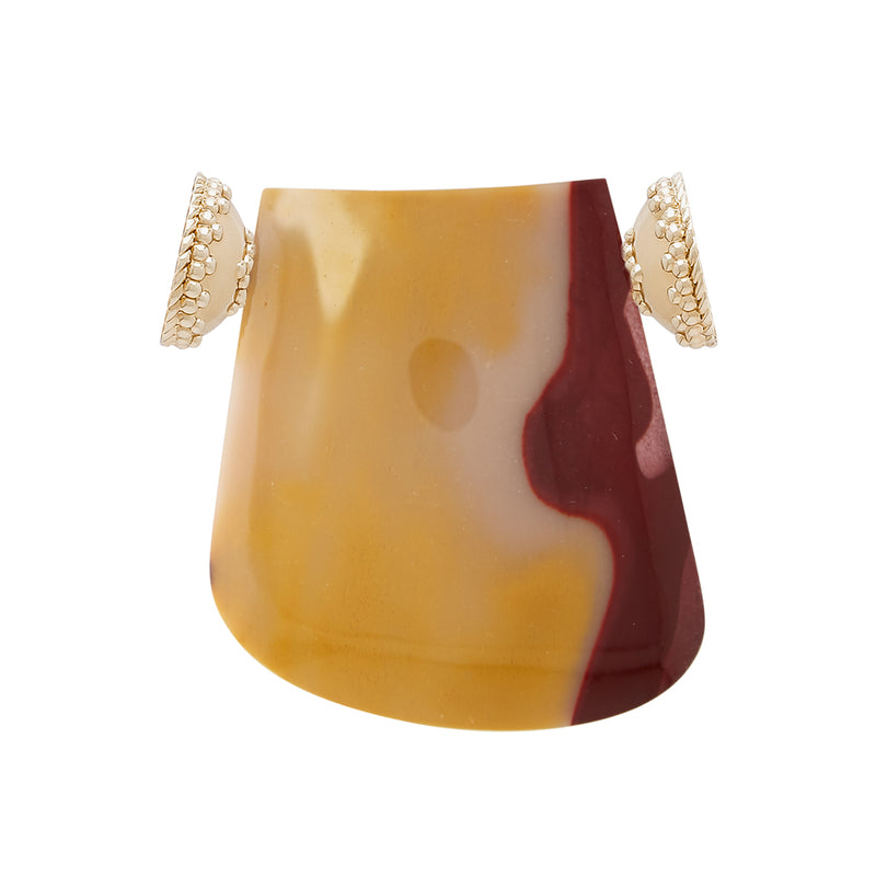 Medium Mookaite Jasper Shield Centerpiece