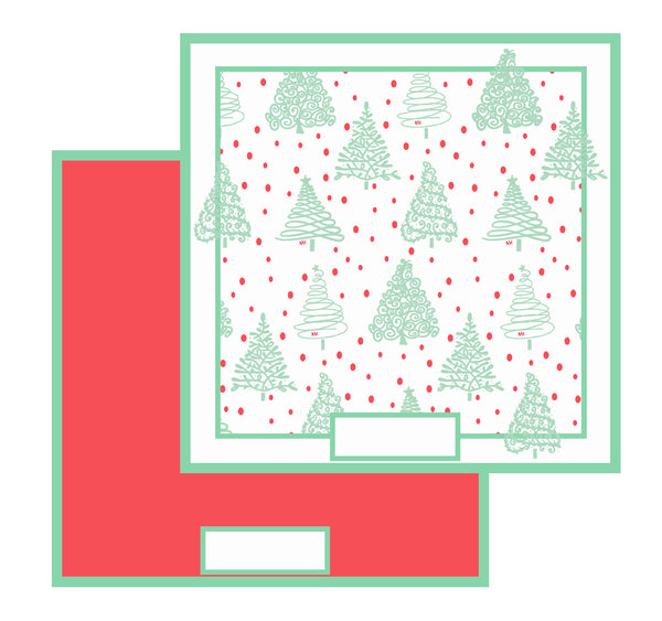Holiday Cheer Reversible Placemats, Set of 12