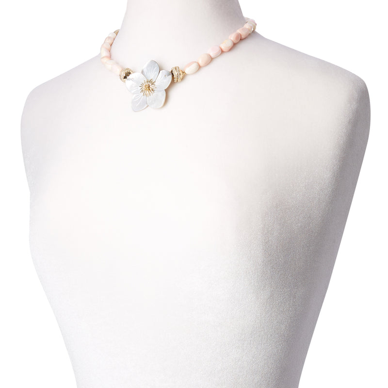 Gold Rush Queen Conch Necklace