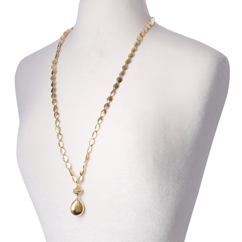Gold Rush Plated Gold Double-Strand Necklace