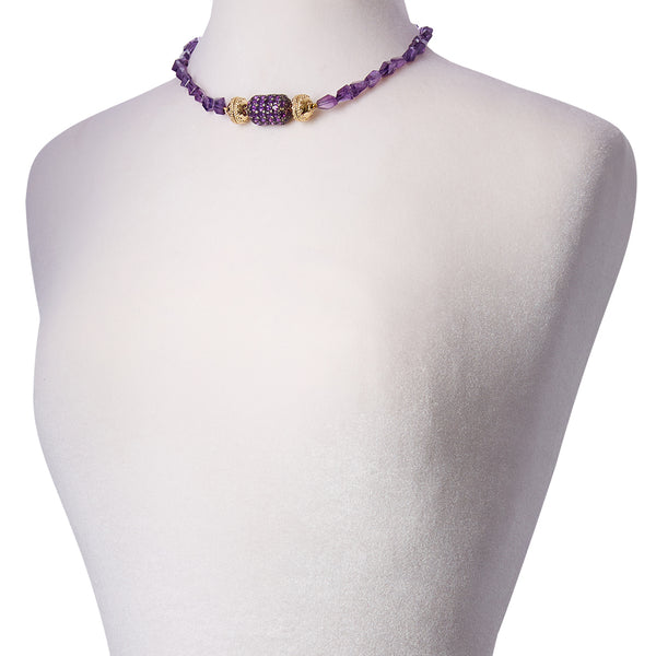 Nancy Amethyst Necklace