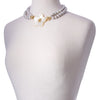 Duet Freshwater Gray Potato Pearl Necklace