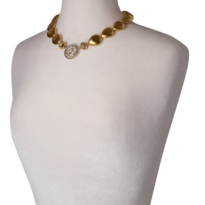 Gold Rush Teardrop Necklace