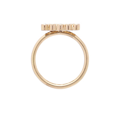 18k Gold Marquee Ring