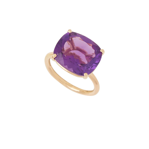 Affinity Amethyst Faceted Ring