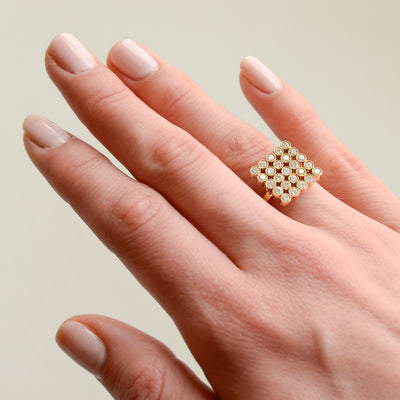 18K Marquee Ring