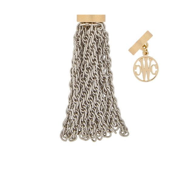 Mini Sheffield Rhodium Studio Tassel
