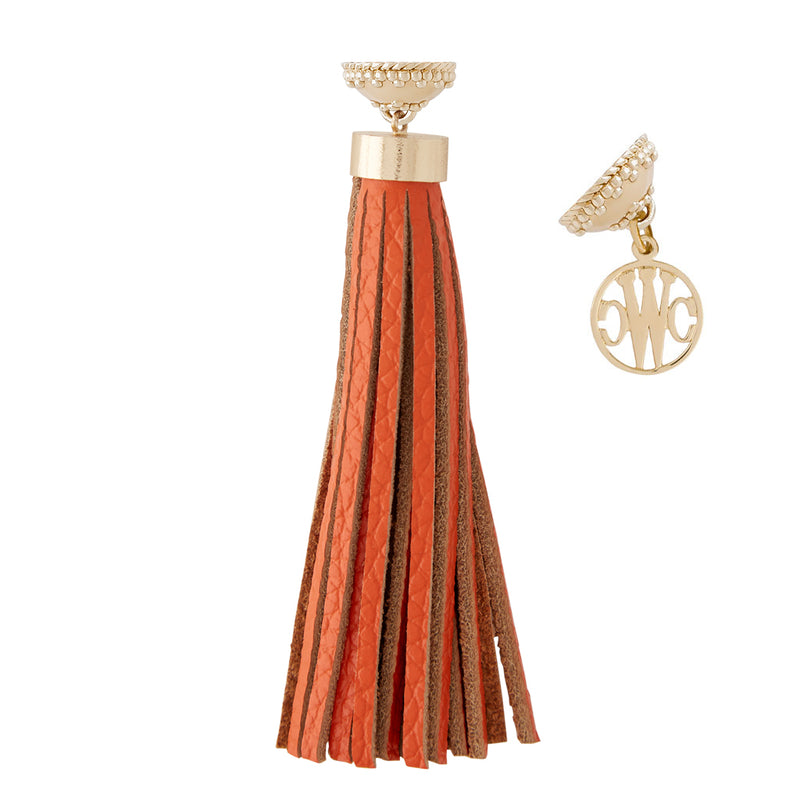 Baja Orange Tassel