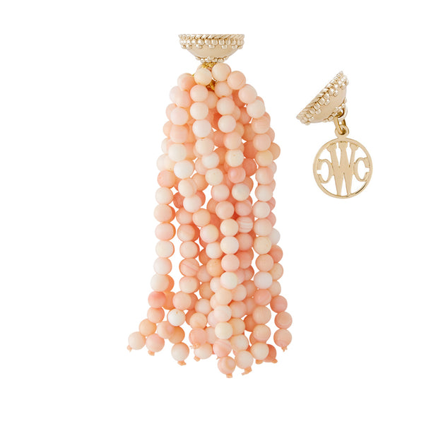 Victoire Queen Conch 4mm Tassel