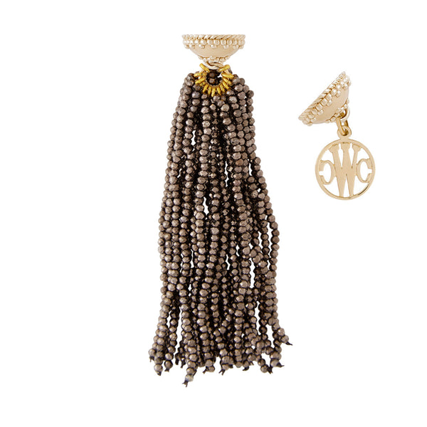 Michel Coated Pyrite Tassel