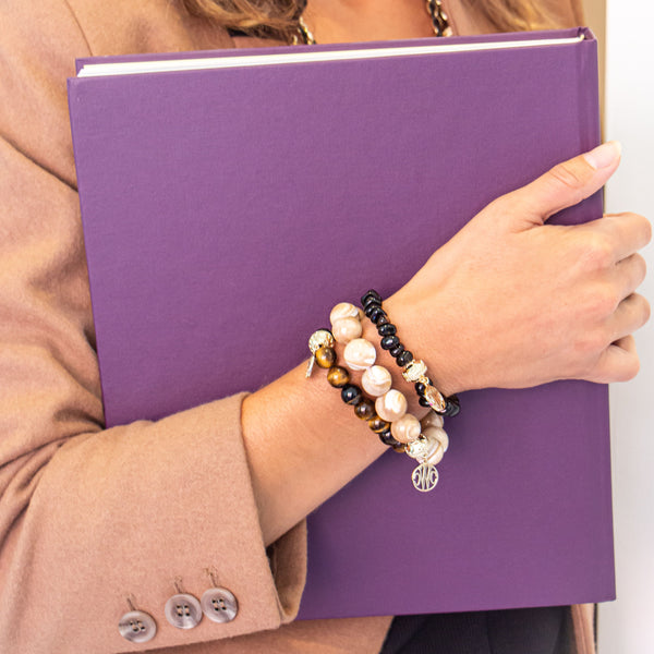 Helen Smoky Quartz Stretch Bracelet