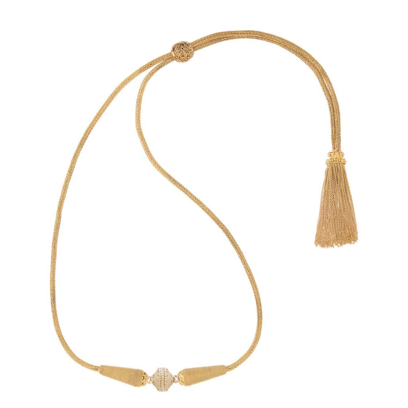 Heritage 18K Tassel Necklace