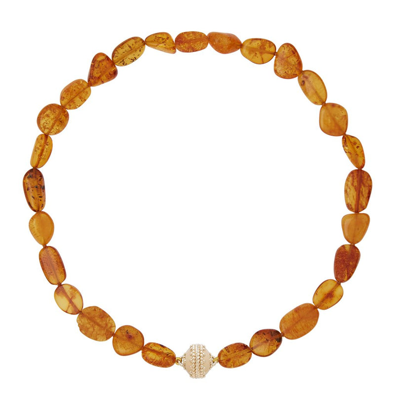 Helen Amber Necklace