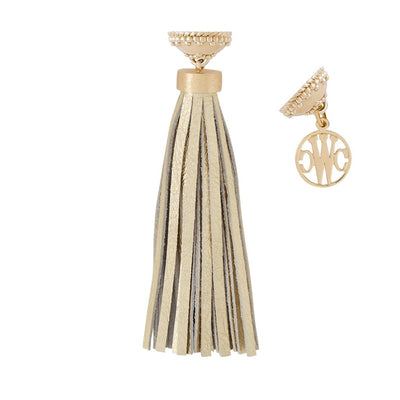 The Baja Metallic Tassel