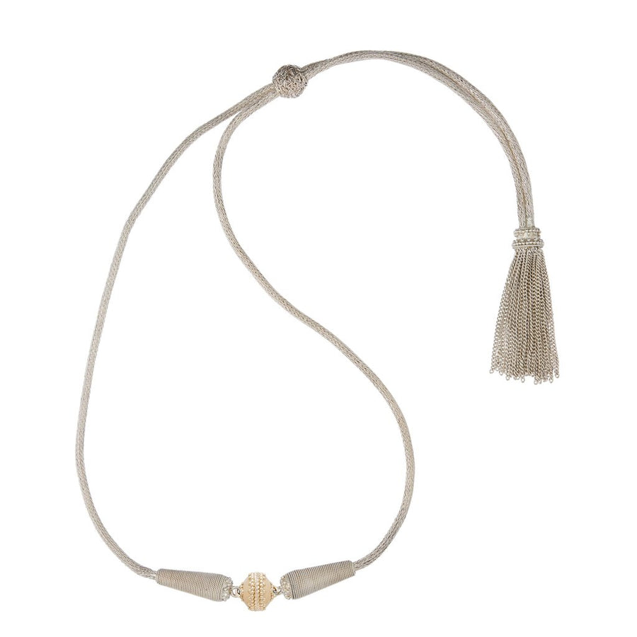 Heritage Sterling Silver Tassel Necklace