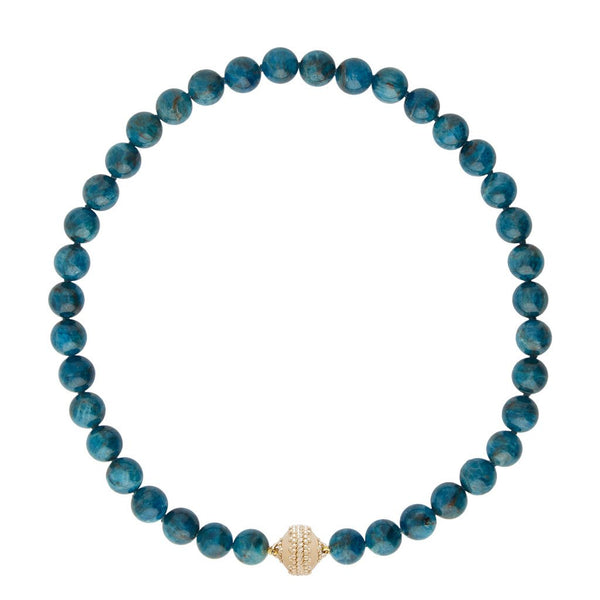 Victoire Apatite 10mm Necklace