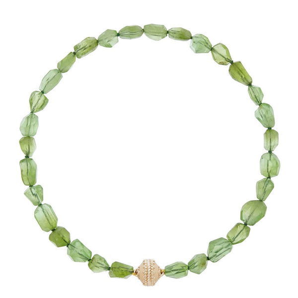 Nancy Peridot Necklace