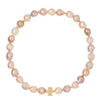 Small Freshwater Pink Baroque Pearl Studio Necklace