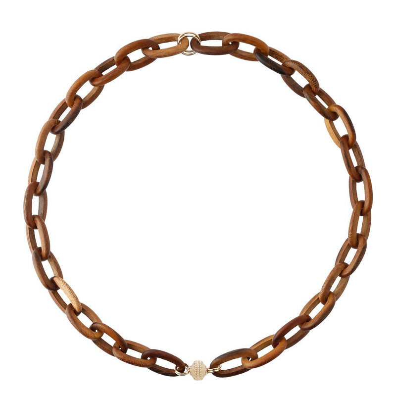 Madera Oval Link Necklace